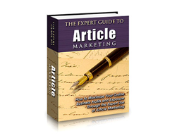 Free PLR eBook – The Expert Guide to Article Marketing