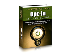 Free PLR eBook – The Expert Guide to Opt-in List Building