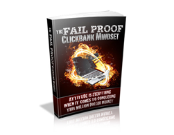Free MRR eBook – The Fail Proof ClickBank Mindset