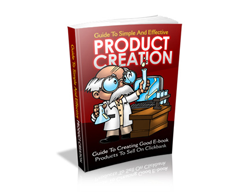 Free MRR eBook – The Guide to Simple and Effective Product Creation