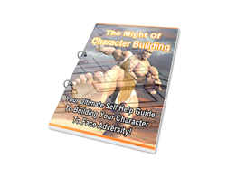 Free PLR eBook – The Might of Character Building