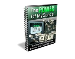 Free PLR eBook – The Power of MySpace