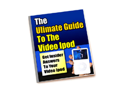 Free PLR eBook – The Ultimate Guide to the Video iPod