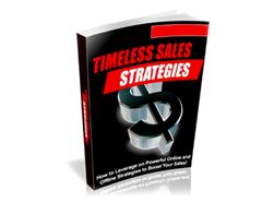 Free PLR eBook – Timeless Sales Strategies