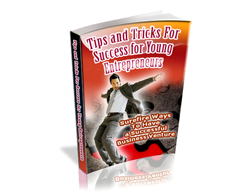 Free PLR eBook – Tips and Tricks for Success for Young Entrepreneurs