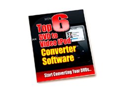 Free PLR eBook – Top 6 DVD to Video iPod Converter Software
