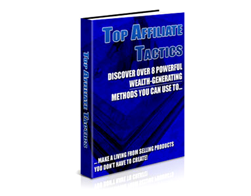 Free PLR eBook – Top Affiliate Tactics