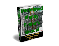 Free PLR eBook – Unclaimed Money Finder's Manual