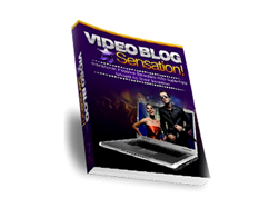 Free PLR eBook – Video Blog Sensation!