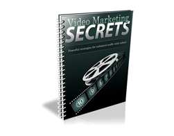 Free PLR eBook – Video Marketing Secrets