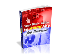 Free PLR eBook – Your Basic Guide to Acing Any Job Interview