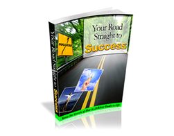 Free PLR eBook – Your Road Straight to Success