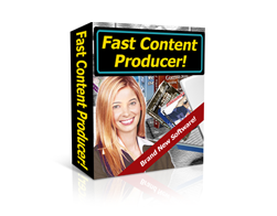 Free PLR Software – Fast Content Producer