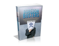 Free MRR eBook – Boredom Busters