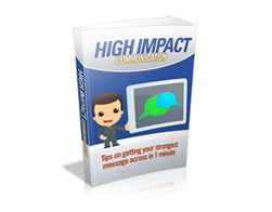 Free MRR eBook – High Impact Communication