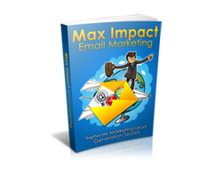 Free MRR eBook – Max Impact Email Marketing