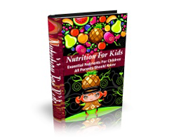 Free MRR eBook – Nutrition for Kids