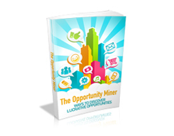 Free MRR eBook – The Opportunity Miner