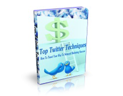 Free MRR eBook – Top Twitter Techniques