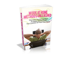 Free MRR eBook – Work at Home Methods Unleashed