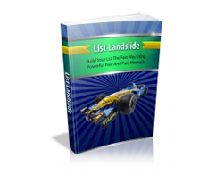 Free MRR eBook – List Landslide