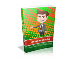 Free MRR eBook – Savvy Salesmanship