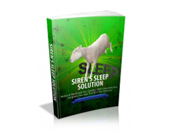 Free MRR eBook – Siren's Sleep Solution