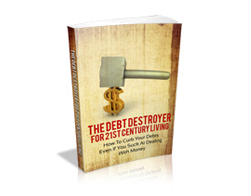 Free MRR eBook – The Debt Destroyer for 21st Century Living