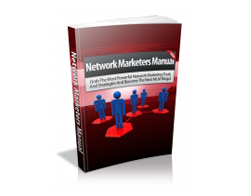 Free MRR eBook – Network Marketers Manual