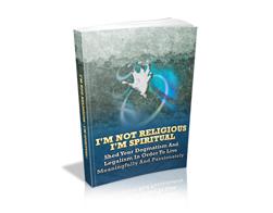 Free MRR eBook – I'm Not Religious – I'm Spiritual!