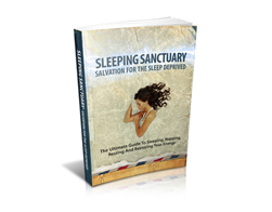 Free MRR eBook – Sleeping Sanctuary – Salvation for the Sleep Deprived