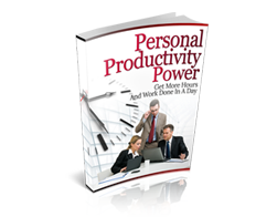 Free MRR eBook – Personal Productivity Power