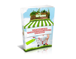 Free MRR eBook – The Green Shopper