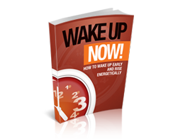 Free MRR eBook – Wake up Now!