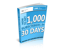 Free MRR eBook – 1,000 Subscribers in 30 Days