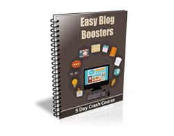 Free PLR Newsletter – Easy Blog Boosters