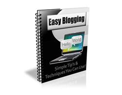 Free PLR Newsletter – Easy Blogging