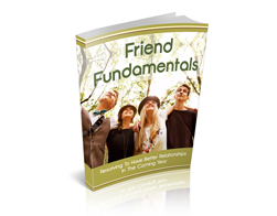 Free MRR eBook – Friend Fundamentals