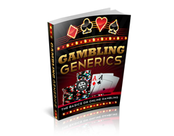 Free MRR eBook – Gambling Generics