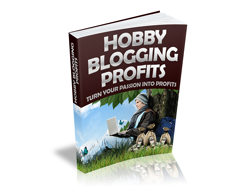 Free MRR eBook – Hobby Blogging Profits