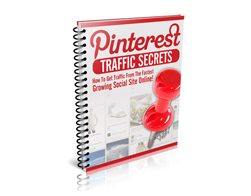 Free PLR eBook – Pinterest Traffic Secrets