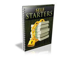 Free PLR eBook – Self Starters