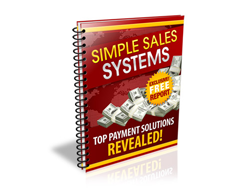 Free PLR eBook – Simple Sales Systems