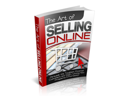 Free PLR eBook – The Art of Selling Online