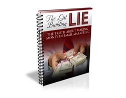 Free PLR eBook – The List Building Lie