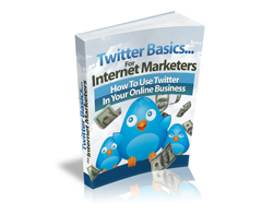 Free MRR eBook – Twitter Basics… for Internet Marketers
