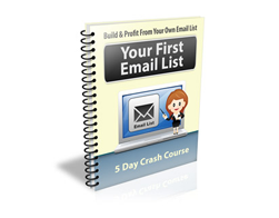 Free PLR Newsletter – Your First Email List