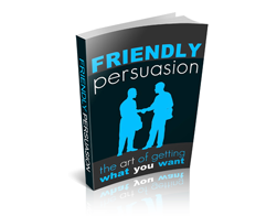 Free MRR eBook – Friendly Persuasion