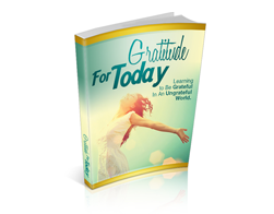 Free MRR eBook – Gratitude for Today