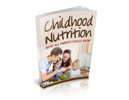 Free MRR eBook – Childhood Nutrition
